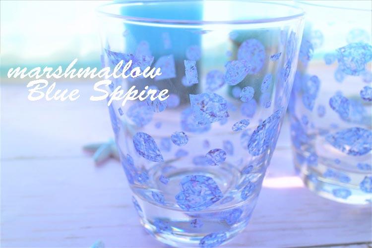《30%OFF!》 【ガラス用】Blue Sappire転写紙【在庫限りSALE】