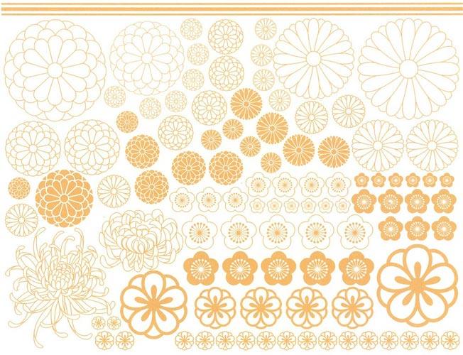 HANA転写紙 Glitter sun beige