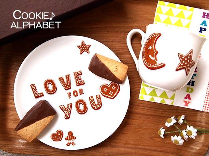 《20%OFF!》COOKIE クッキー♪ アルファベット 転写紙【在庫限りSALE】