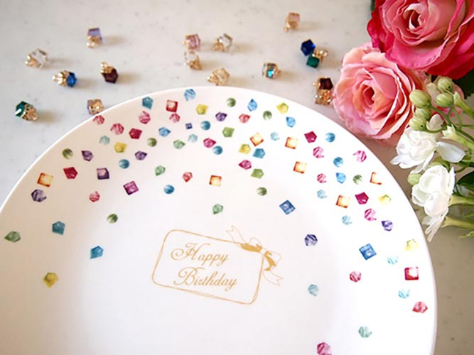 【水彩】宝石転写紙