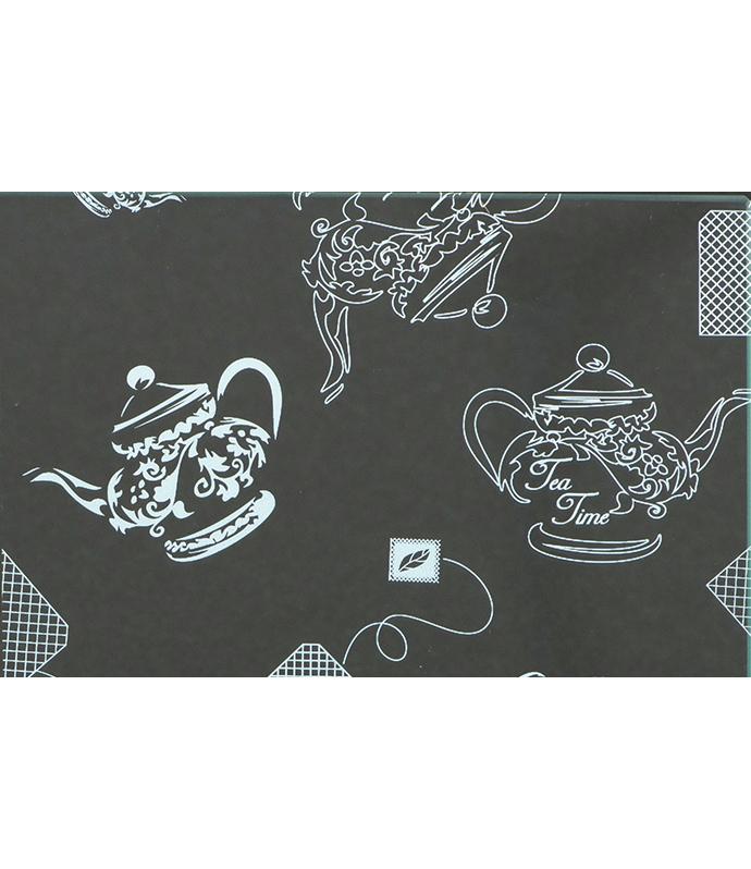 【ガラス用】ティータイム(ホワイト)