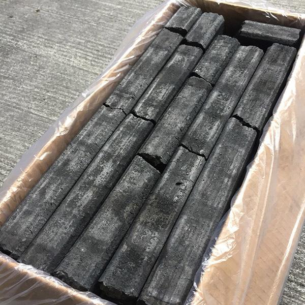 中国産 オガ炭Aグレード【10箱以上】 ※ご注文は2箱単位でお願いします
