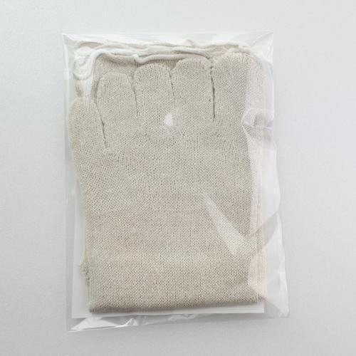 シルク5本指(4枚重ね履きの1枚目用)
