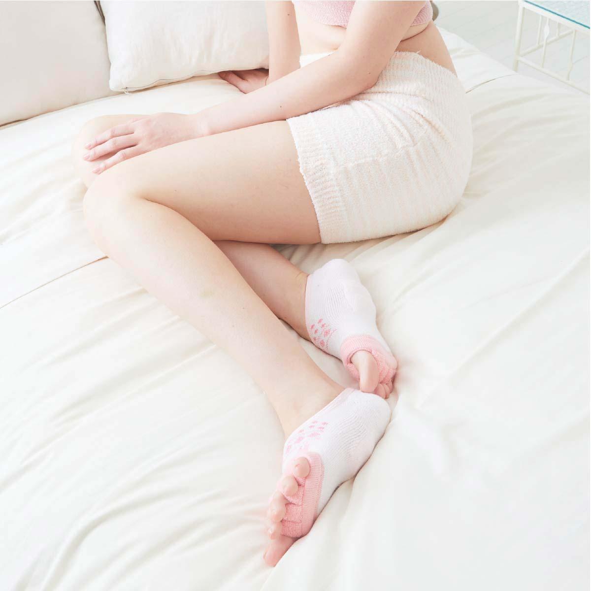 MOZ 足指グッパ青竹ふみフットカバー