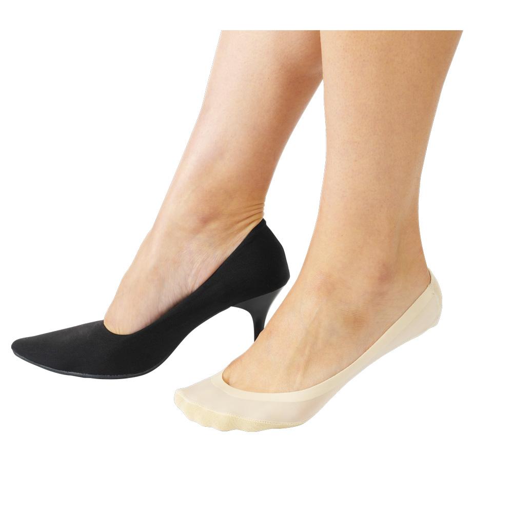 Dr.Scholl 靴ずれ防止フットカバー かかとクッション付き
