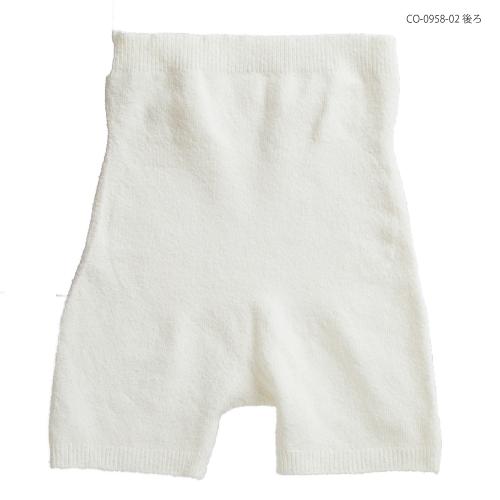 cocoonfit 身体に寄り添う3分丈腹巻き付きパンツ