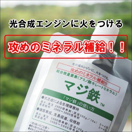 アミノ酸キレートミネラル「マジ鉄」 200g×5p入り