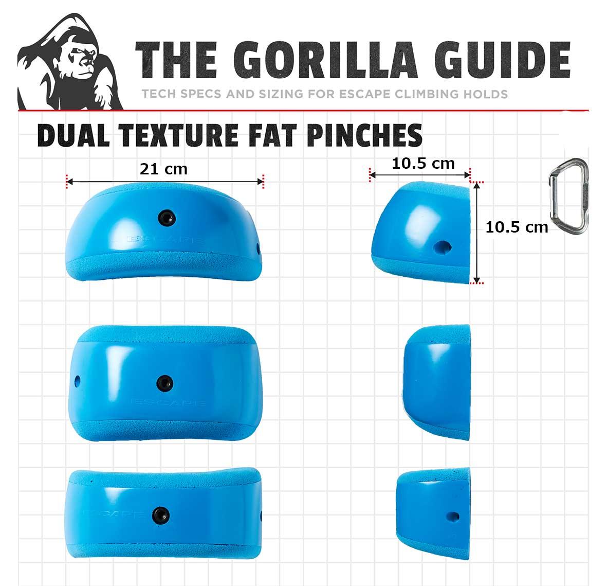 【NEW】ES DT Fat Pinches / 3個セット