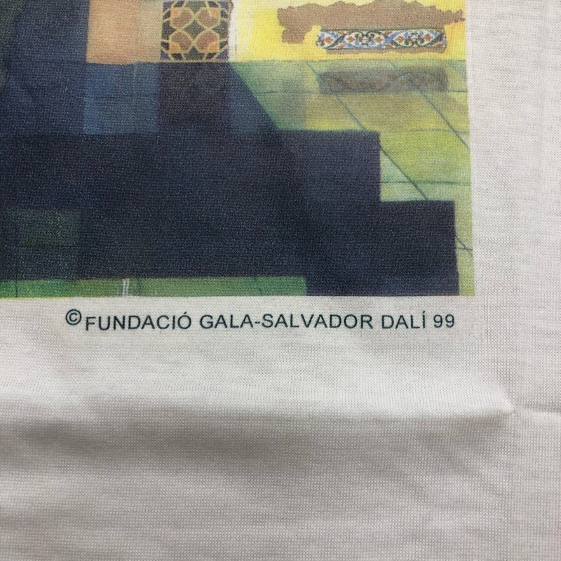 [DEAD STOCK] 90s SALVADOR-DALI T-SHIRT 99
