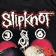 [USED]90s SLIPKNOT T-SHIRT 1st SHAWN&CHIRIS
