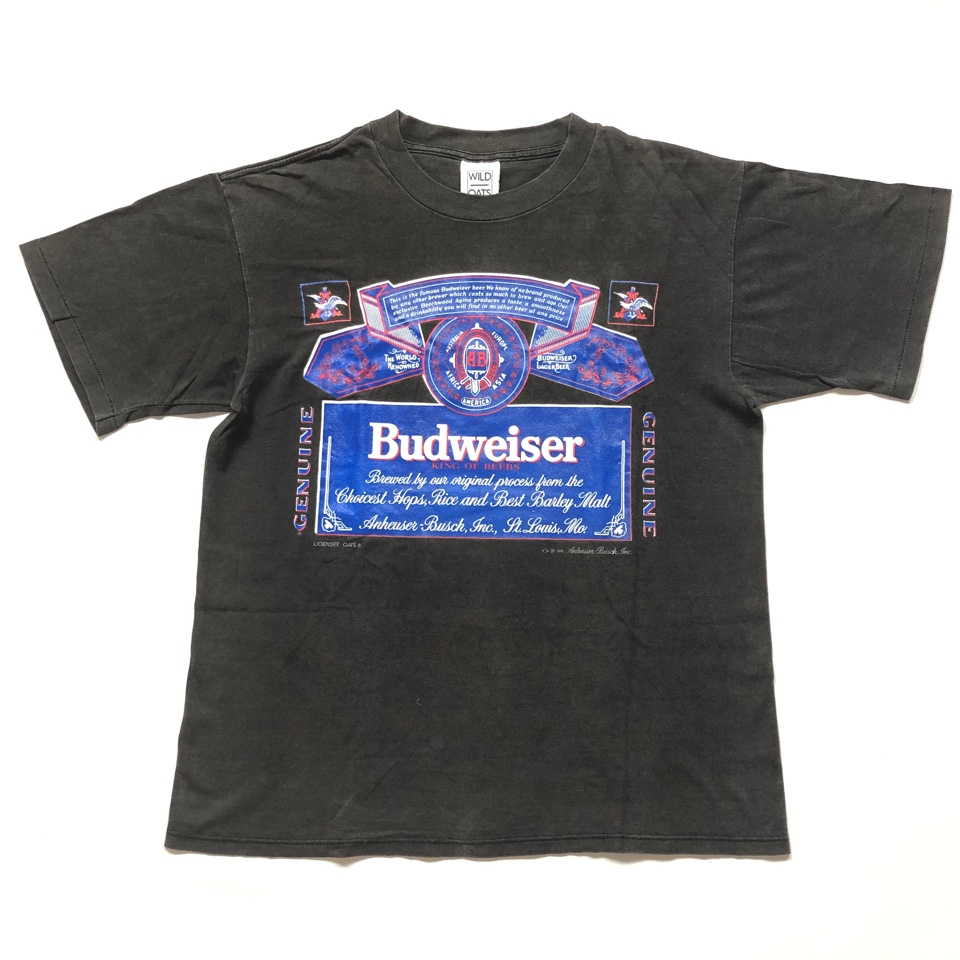 [USED] 90s Budweiser T-SHIRT