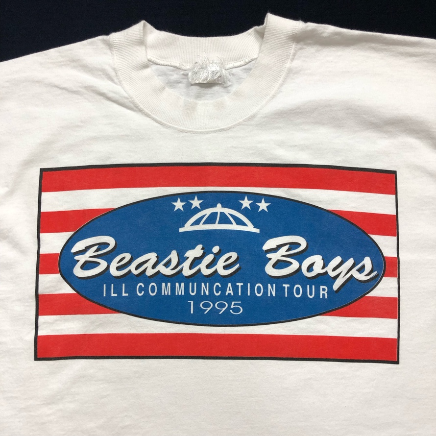 [USED] 90s BEASTIE BOYS T-SHIRT ILL COMMUNICATION TOUR 1995