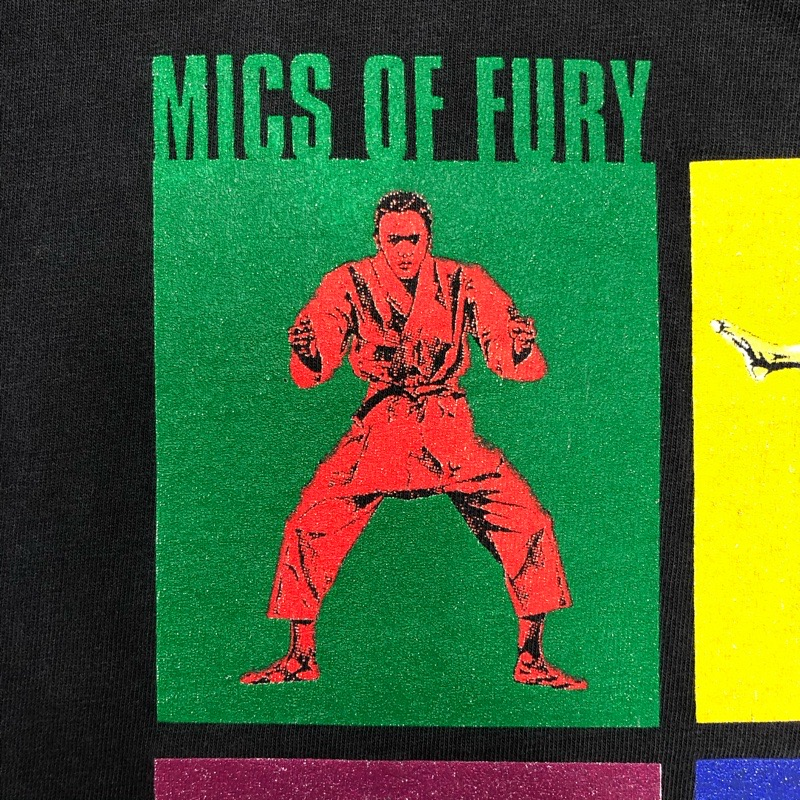 [USED] 90s BEASTIE BOYS T-SHIRT MICS OF FURY