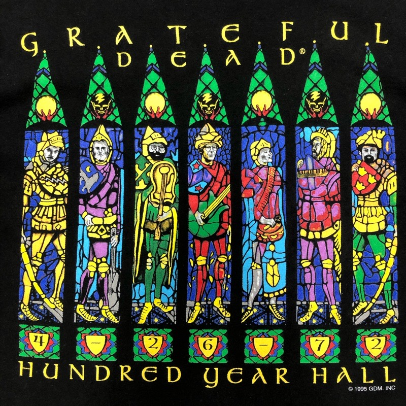 [USED]90s GRATEFUL DEAD T-SHIRT HUNDRED YEAR HALL