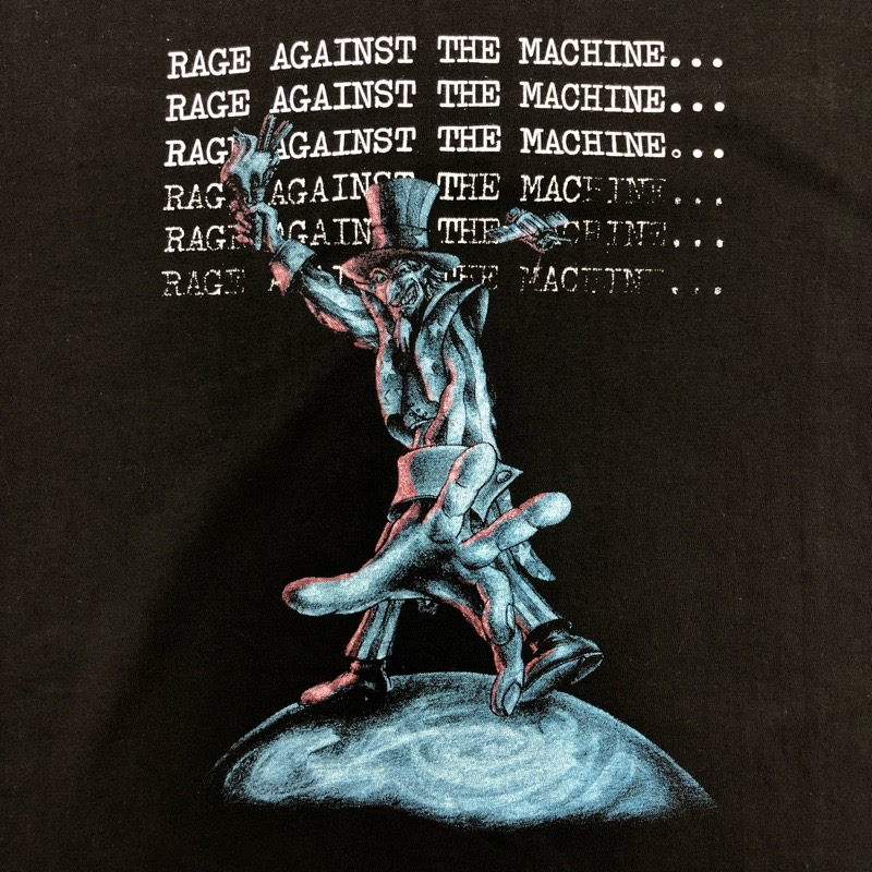 [DEAD STOCK] 90s RAGE AGAINST THE MACHINE T-SHIRT