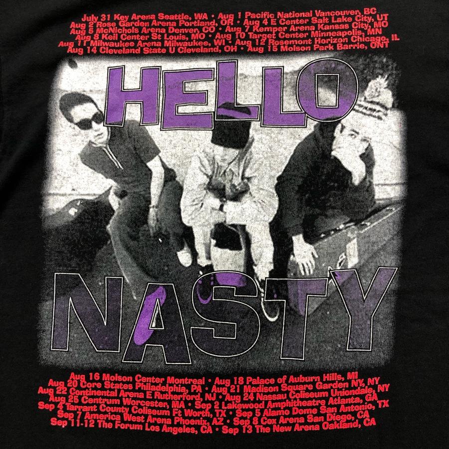[USED] 90s BEASTIE BOYS T-SHIRT HELLO NASTY