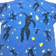 [USED] 90s Henri Matisse T-SHIRT ICARO OVER PRINTED
