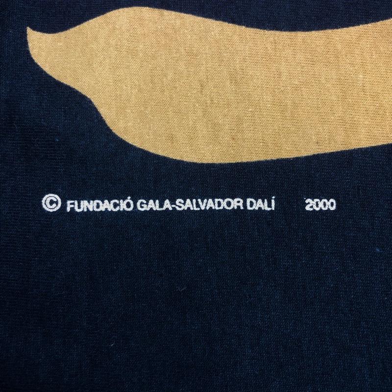 [DEAD STOCK] 00s SALVADOR-DALI T-SHIRT 2000