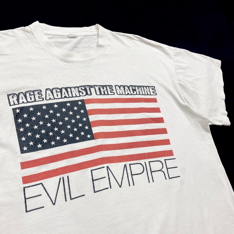 [USED] 90s RAGE AGAINST THE MACHINE T-SHIRT EVIL EMPIRE