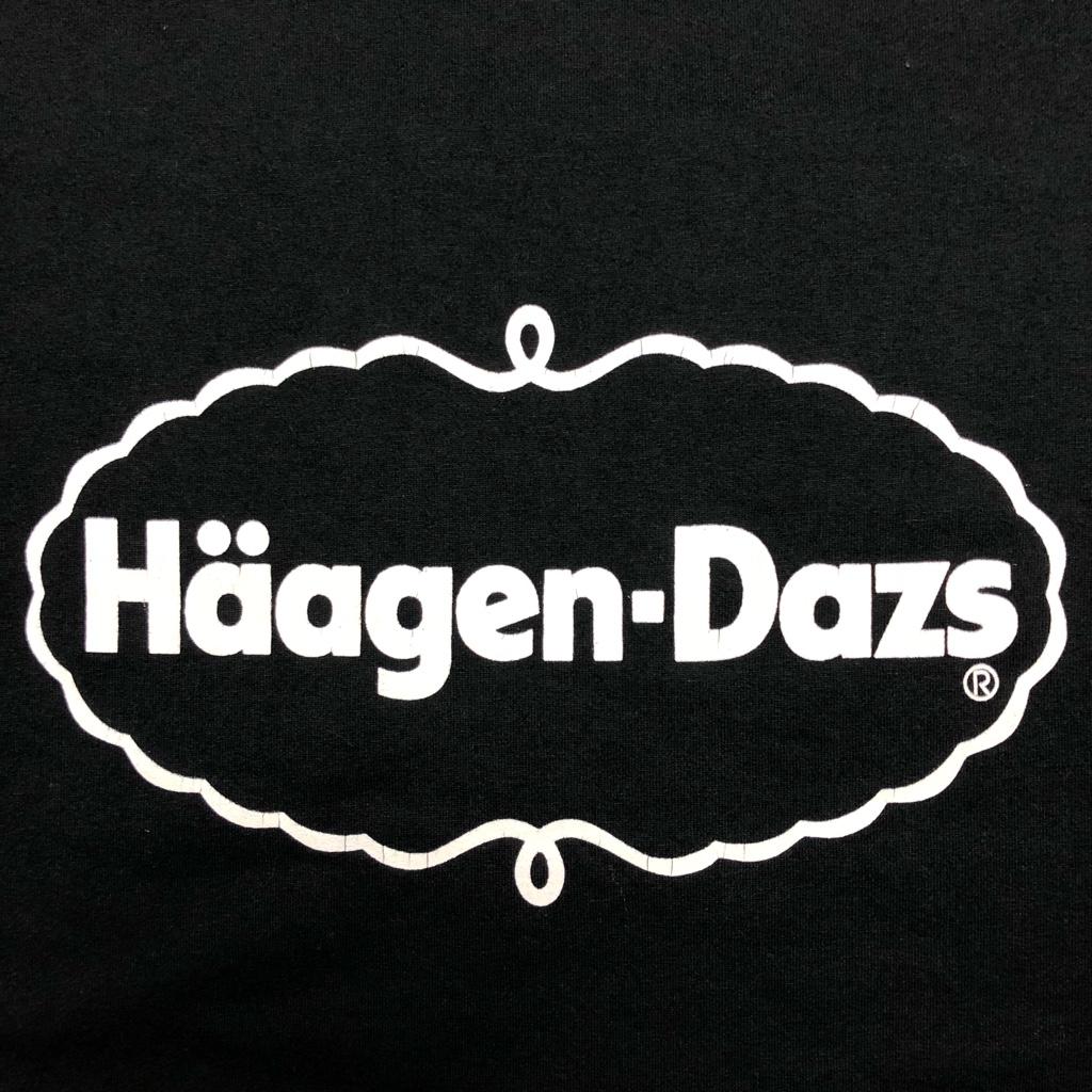 [USED]90s  Haagen-Dazs T-SHIRT