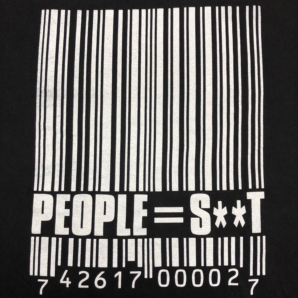 [USED]00s SLIPKNOT T-SHIRT PEOPLE=SHIT