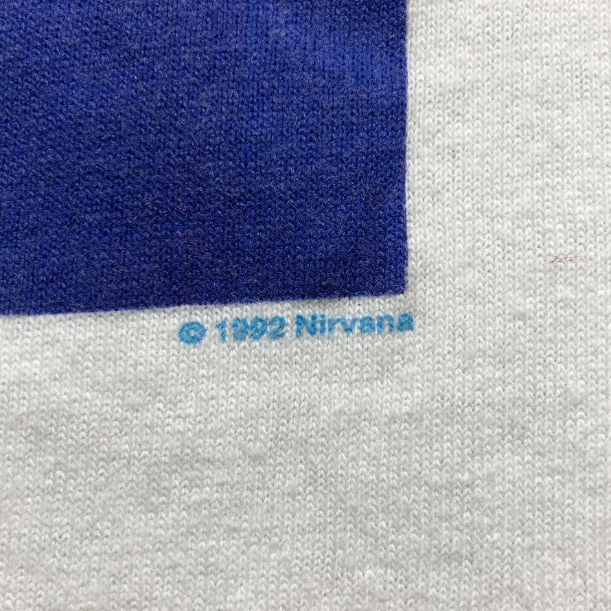 [USED] 90s NIRVANA T-SHIRT NEVERMIND