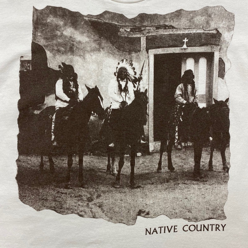 [USED] 90s NATIVE COUNTRY  T-SHIRT