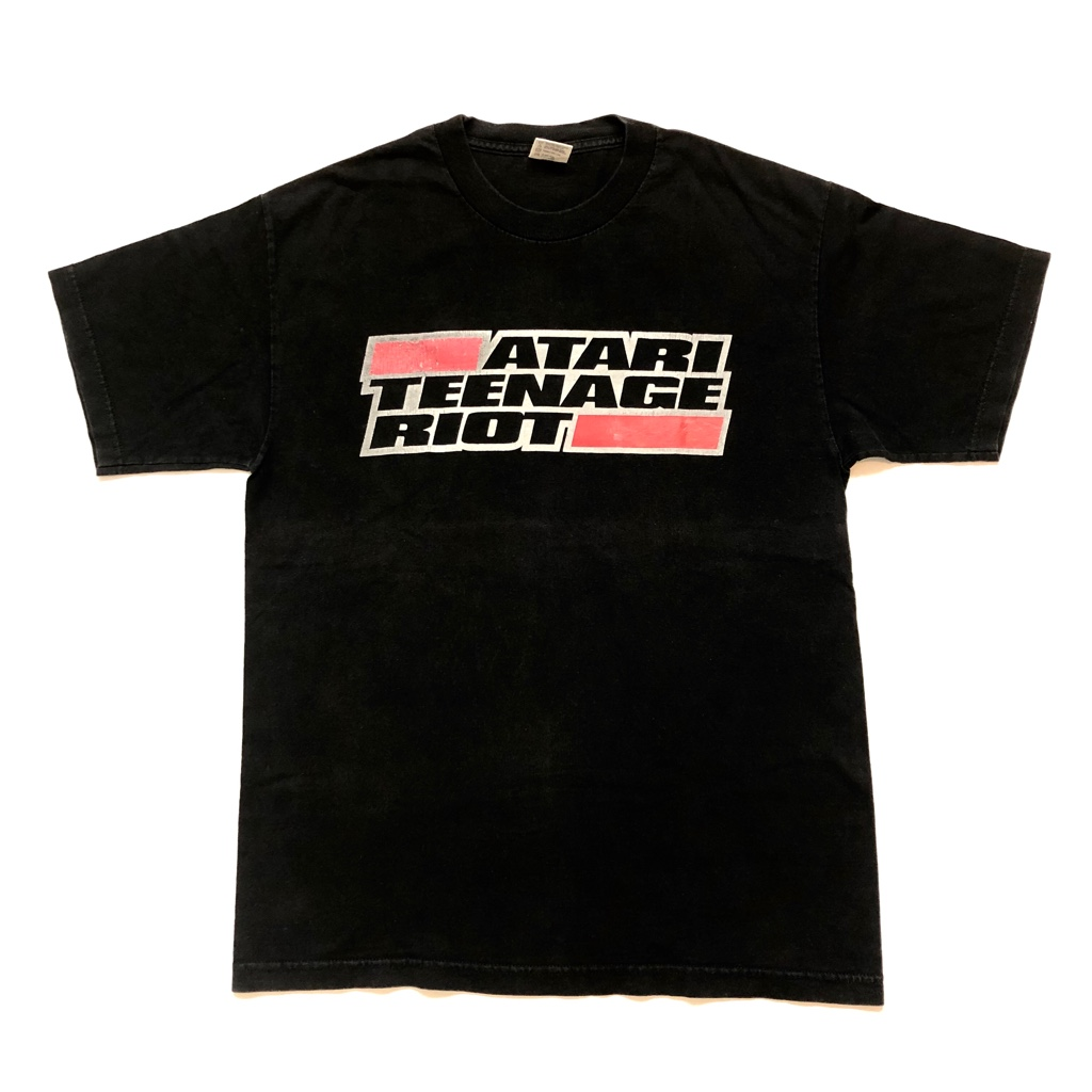 [USED] ATARI TEENAGE RIOT DHR!! 90s  T-SHIRT