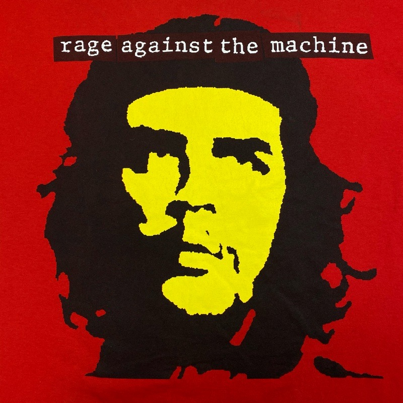 [USED] 90s RAGE AGAINST THE MACHINE T-SHIRT Bombtrack