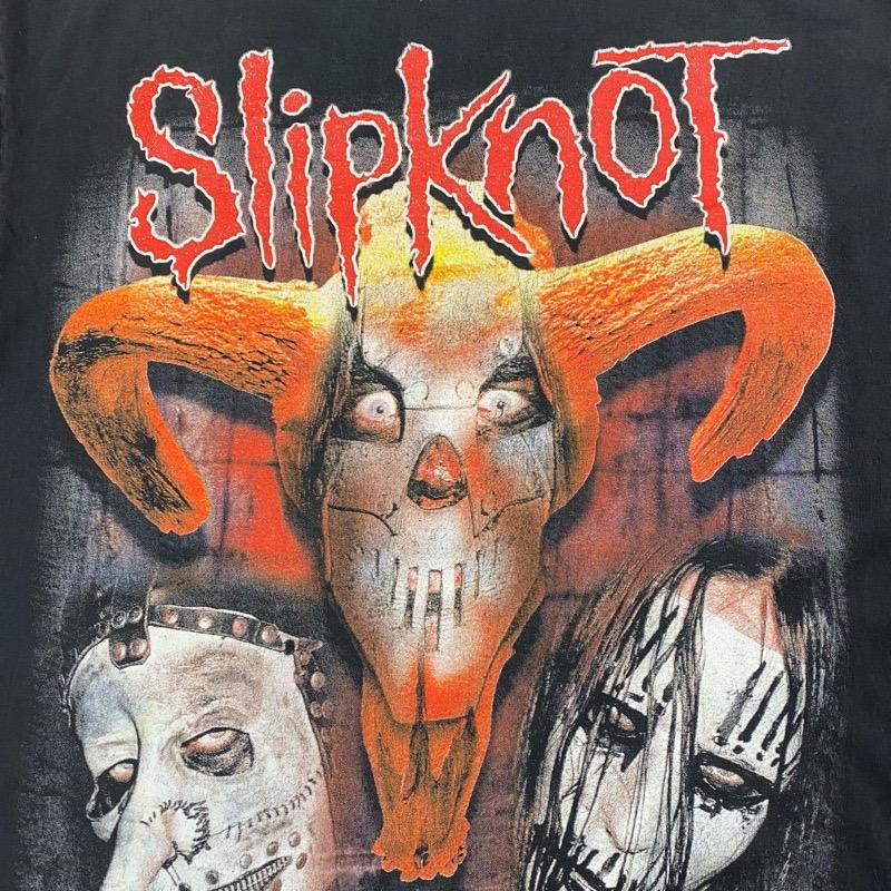 [USED]00s SLIPKNOT T-SHIRT IOWA