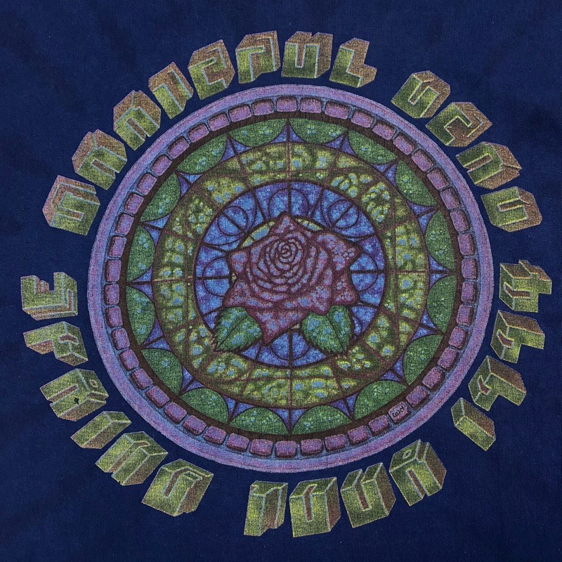 [USED]90s GRATEFUL DEAD T-SHIRT 1994 SPRING INDIGO DYE