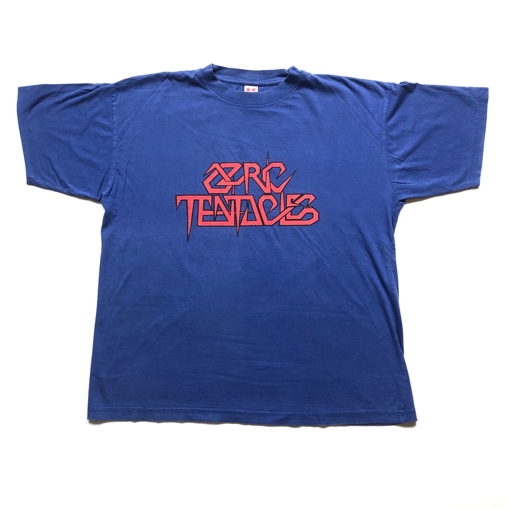[USED] 90s OZRIC TENTACLES  T-SHIRT  LOGO