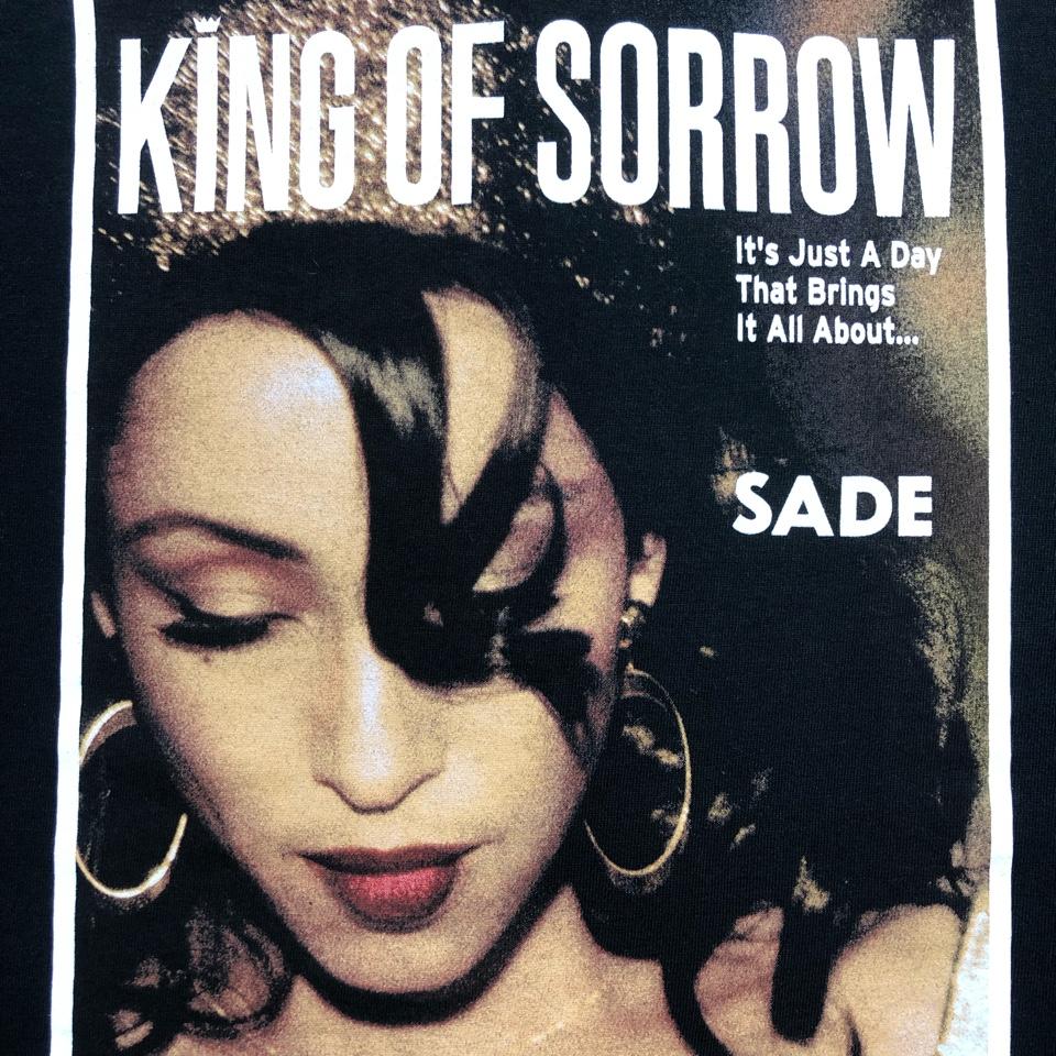 [DEAD STOCK]00s SADE T-SHIRT KING OF SORROW