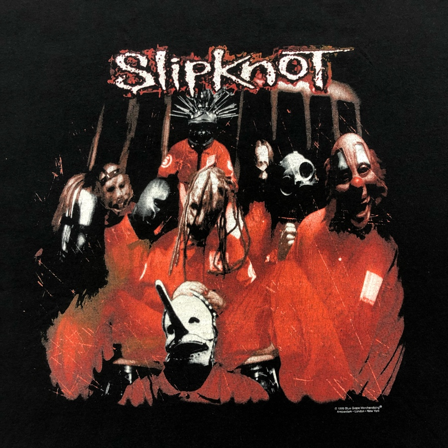 [USED]90s-00s SLIPKNOT  T-SHIRT DELTA 1st album