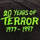 [USED] 90s MISFITS T-SHIRT 20 YEARS OF TERROR 1977-1997