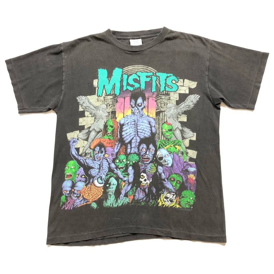 [USED] 90s MISFITS T-SHIRT EARTH A.D.