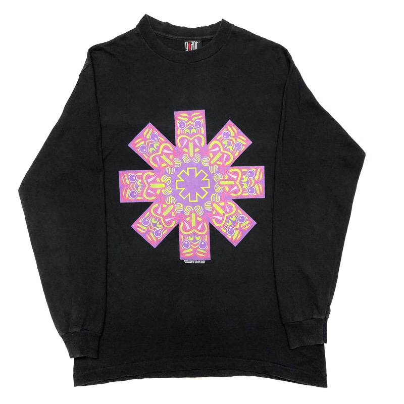 [USED] 90s RED HOT CHILI PEPPERS LONG SLEEVE T-SHIRT Hanky Panky