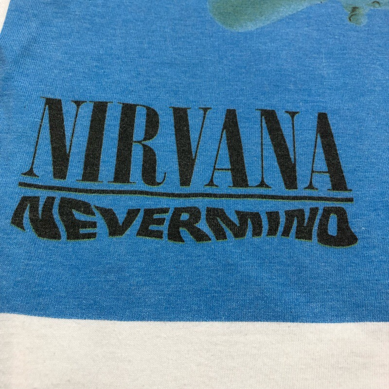 [USED] 90s NIRVANA T-SHIRT NEVERMIND anvil