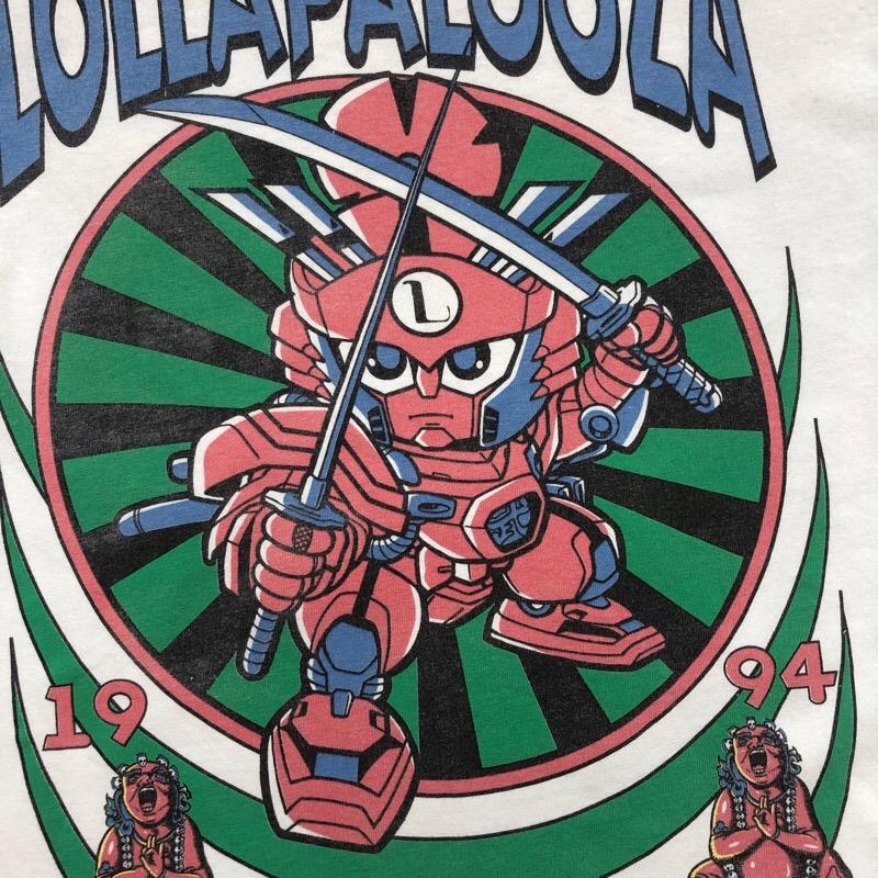 [USED] 90s LOLLAPALOOZA T-SHIRT 1994 BB戦士風