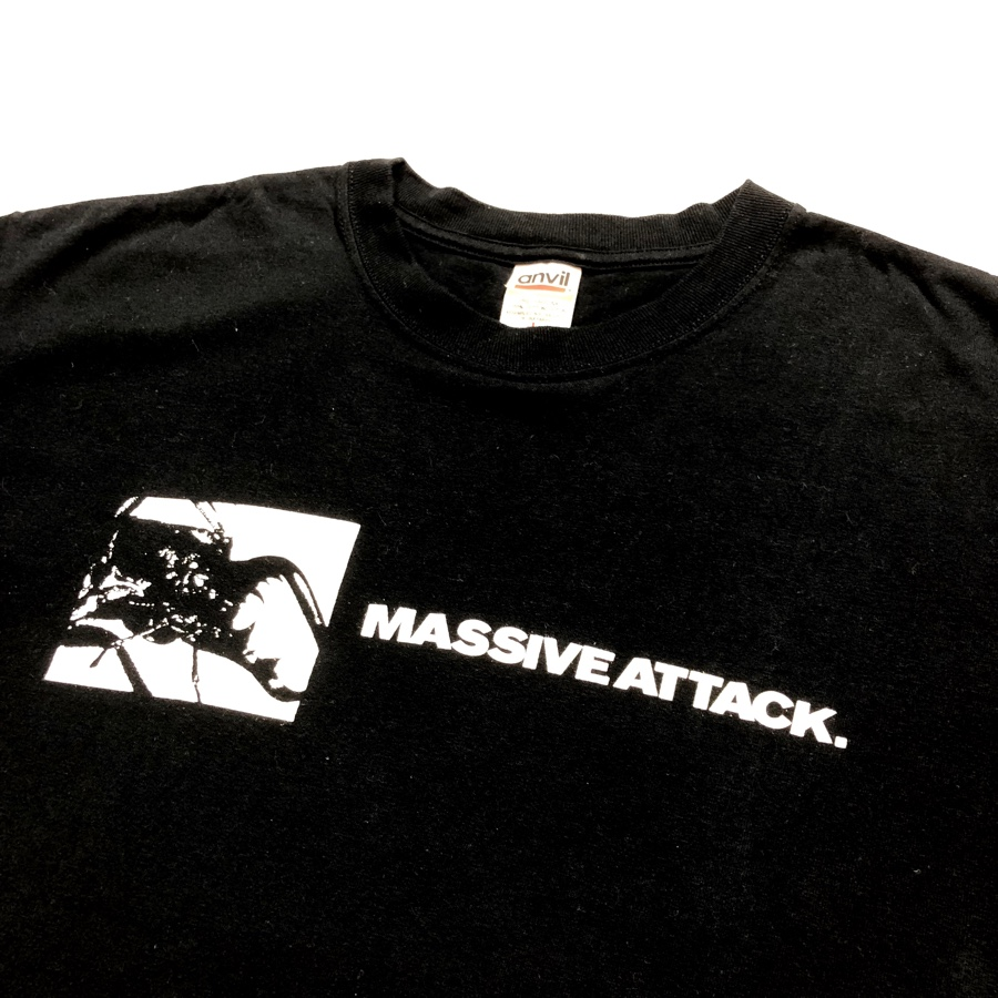[USED]90s MASSIVE ATTACK T-SHIRT MEZZANINE