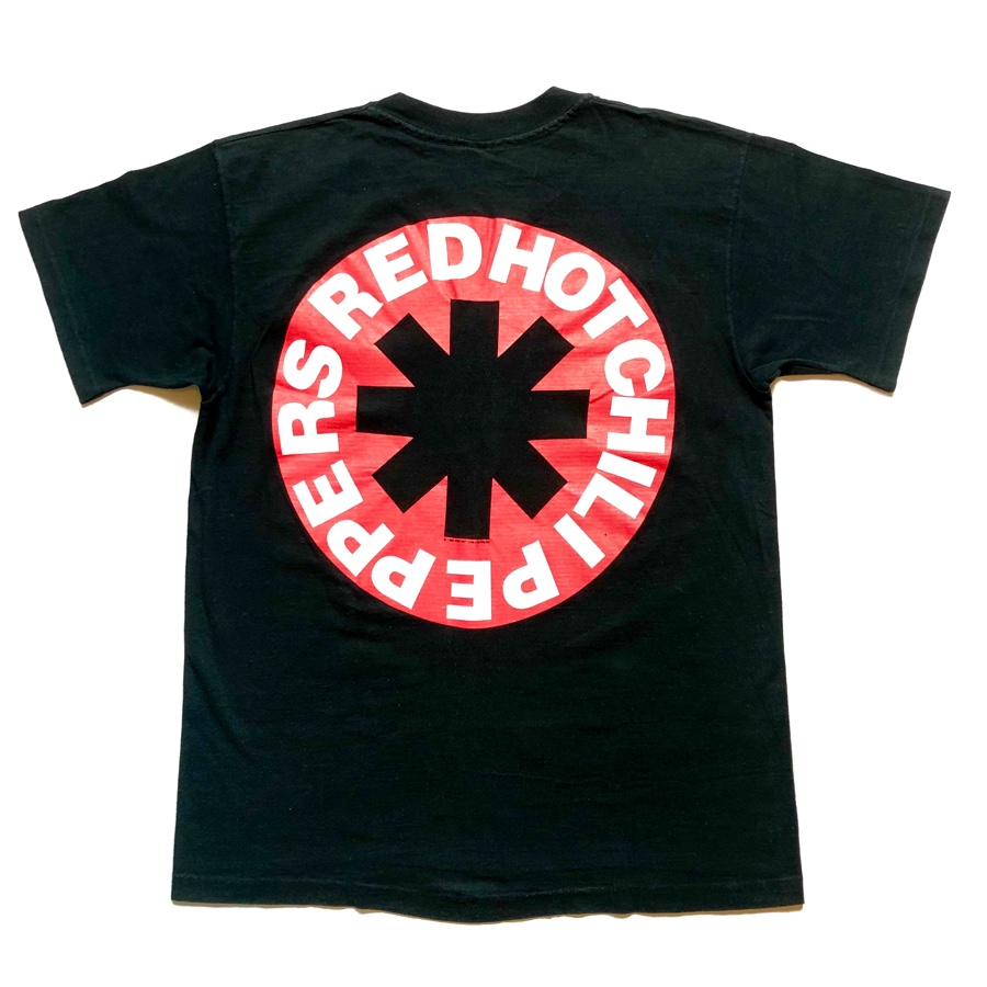 [USED] 90s RED HOT CHILI PEPPERS T-SHIRT Blood Sugar Sex Magik