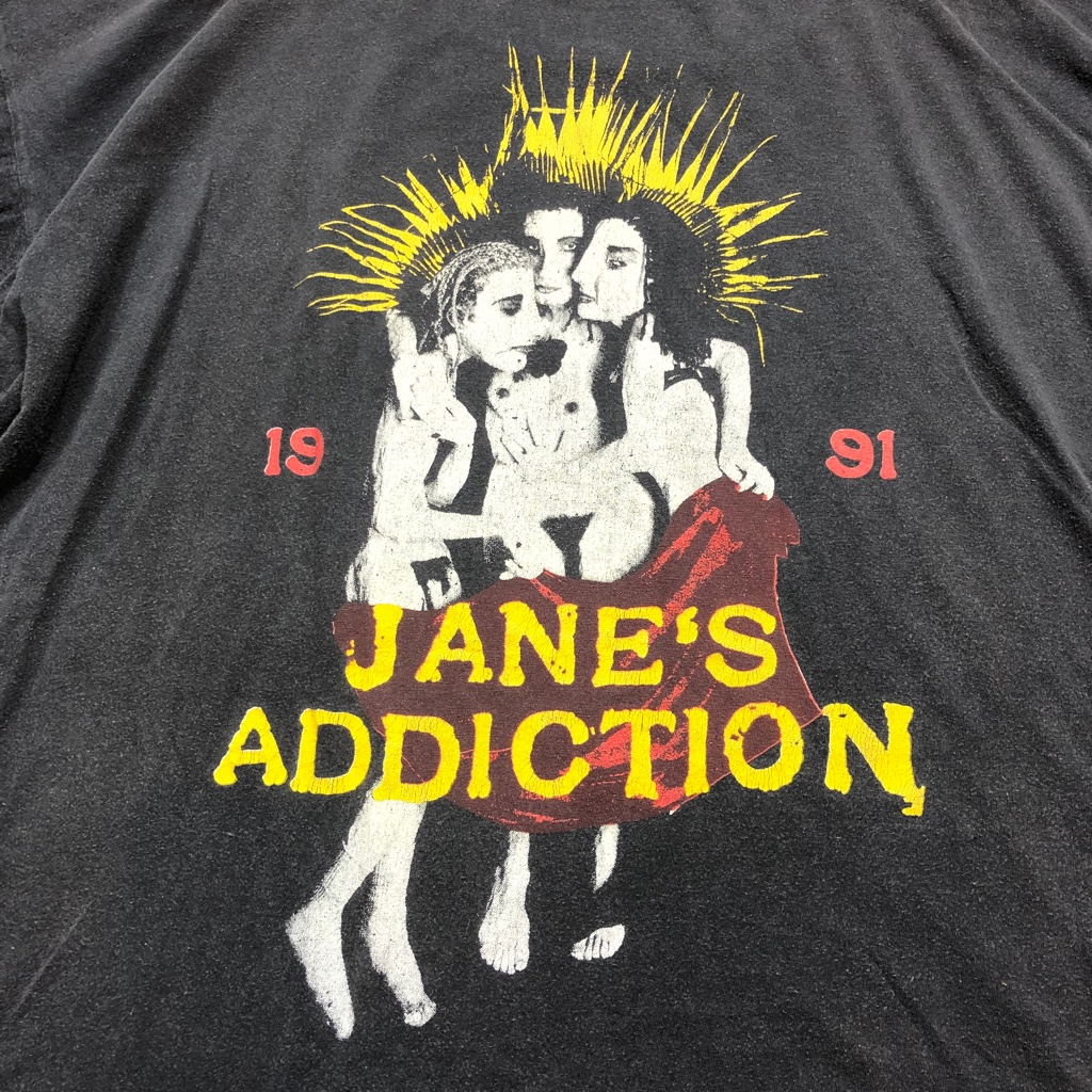 [USED] 90s JANE'S ADDICTION T-SHIRT 1991