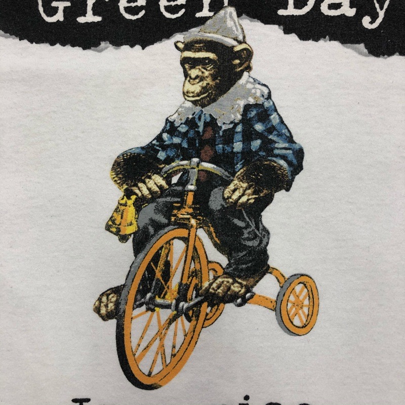 [USED] 90s GREEN DAY T-SHIRT INSOMNIAC