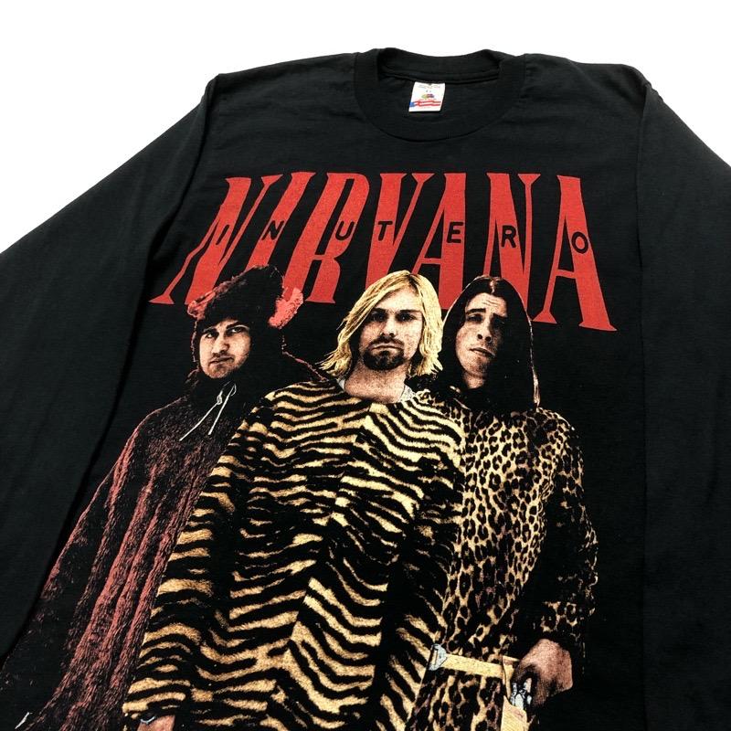 [DEAD STOCK] 90s NIRVANA T-SHIRT UTERO bootleg