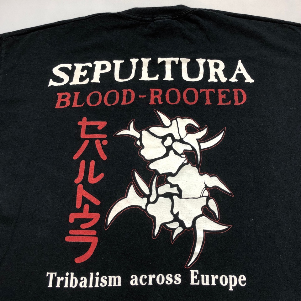 [USED] 90s SEPULTURA T-SHIRT BLOOD ROOTED