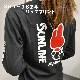 My Melody ロングTシャツ(ブラック)
