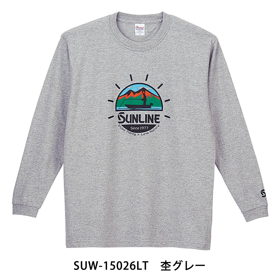 コットンロングTシャツ SUW−15026LT