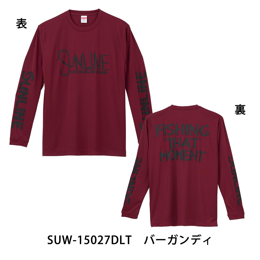 DRY ロングTシャツ SUW−15027DLT