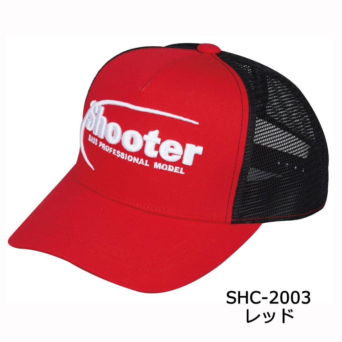 Shooter・メッシュキャップ