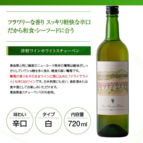 津軽ワインホワイトスチューベン アートラベル